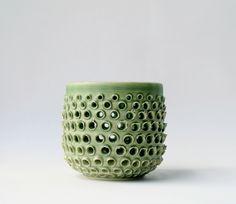 Robert Boyer pierced ceramic vessel   #rdboyer #ceramics