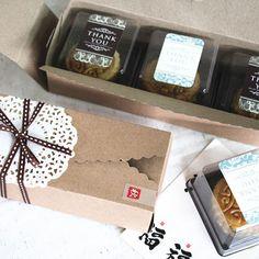 Прямоугольные выпечка упаковка, крафт-бумага 80 г луна торт окна печенье коробка Вест-Пойнт Оптовая Macaron торт - Taobao
