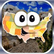 Stack the States-Geography App- Learn 50 US states trivia via shape-matching and a stacking game.