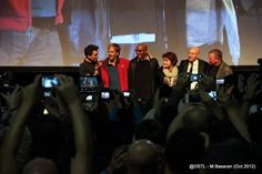 5 captains on the stage it was amazing. Kate Mulgrew, Babylon 5, Star Trek, Sci Fi, Stage, Geek, Fantasy, London, Concert
