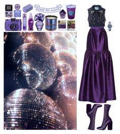 """""""Start the New Year Dancing"""" by shelcity ❤ liked on Polyvore featuring Prabal Gurung, Holga, Tom Dixon, BCBGMAXAZRIA, It's a 10, Polaroid, Alaïa and Swatch"""