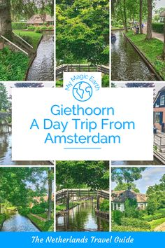 Giethoorn is a perfect day trip from Amsterdam. The Dutch Water Town town is one of the prettiest places in the Netherlands. Netherlands travel tips | Netherlands bucket list | small towns in Netherlands |fishing village | things to do in Giethoorn| Giethoorn travel guide | Dutch Village | Holand | Day Trip from Amsterdam | Prettiest Place in the Netherlands | Dutch Water Town #EuropeTravel #荷兰 #beautifulplace #familytravel #instagrammableplace #giethoorn