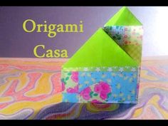 Origami - Como fazer uma CASA de PAPEL