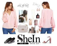 """my Shein"" by gvantsa-i ❤ liked on Polyvore featuring Laura Mercier, Essie, Major Moonshine, Yves Saint Laurent and Casetify"