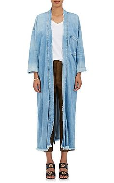We Adore: The Waverly Cotton-Blend Denim Kimono-Style Jacket from NSF at Barneys Warehouse