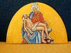 Mosaico della  Pietà di Michelangelo di Vincenzo Greco
