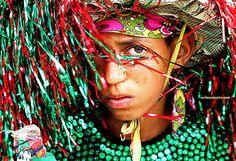 Maracatu rural     Jovem guerreiro de nazaré da mata.