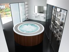 BROADWAY ROUND | SPA - designer Hydromassage baths from ROCA ✓ all information ✓ high-resolution images ✓ CADs ✓ catalogues ✓ contact..