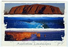 Australia        Jigsawcard 092