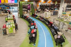 Try your buggy before you buy on our 'Walk in the Park' test-drive track!