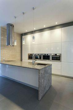 Modern Kitchen Splashbacks modern kitchen with glass splashbackdynamic glass melbourne
