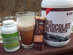 Double Chocolate Paleo Protein Shake