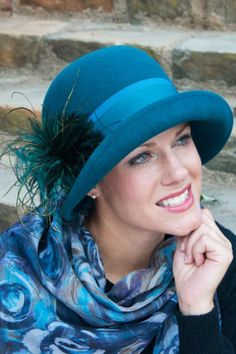 wool felt hats for women with cancer and alopecia