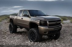 Chevrolet Lifted Trucks
