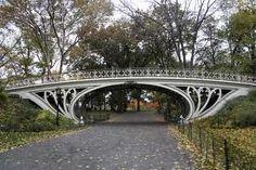 I love the bridges of Central Park!