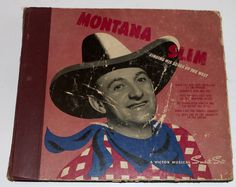 Montana Slim (Wilf Carter) RCA VICTOR Singing Songs of the West Peter Knights...