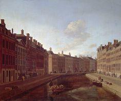 Gerrit Adriaensz Berckheyde De bocht van de Herengracht te Amsterdam