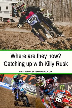 Where are they now? Catching up with Killy Rusk #mx #motocross