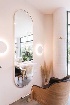 Daniel malik design portfolio interior design of studio benicky hair salon hairdressers in sydney australia round wall light salon mirror hair cut station 15 fabulous ideas for a stylish beauty salon salons salondecor salonideas