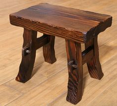 Wooden Stool //Price: $207.99 & FREE Shipping //     #woodworking