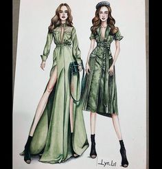 Best Picture For fashion sketches For Your Taste You are looking for something, and it is going to t Dress Design Sketches, Fashion Design Sketchbook, Fashion Design Drawings, Art Sketchbook, Dress Illustration, Fashion Illustration Dresses, Medical Illustration, Fashion Illustrations, Moda Fashion