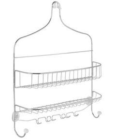 Interdesign Cero Wide Nesting Shower Caddy - Silver