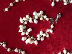 Art of Jewellery- Splendour of Persia pearl bracelet with antique silver pendant