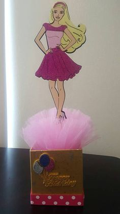 Check out this item in my Etsy shop https://www.etsy.com/listing/514251930/barbie-birthday-party-decoration