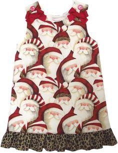 girls Santa dress