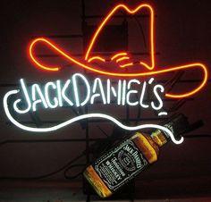 Jack Daniels Neon Sign Real Neon Light
