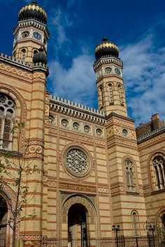 The Great Synagogue in Dohany Street by SKI U L8R, via Flickr. Budapest, Hungary