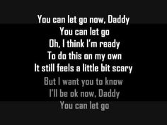 """Pin for Later: 30 Country Songs For the Father-Daughter Dance of Your Dreams """"You Can Let Go Now, Daddy"""" by Crystal Shawanda"""