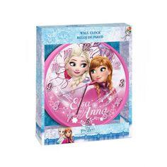Disney Frozen, Jégvarázs falióra 25 cm - Mesenet Disney Frozen, Clock, Led, Clocks, Watch, Frozen Disney