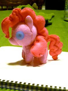 mini young filly Pinkie Pie plushie by ~haiban on deviantART