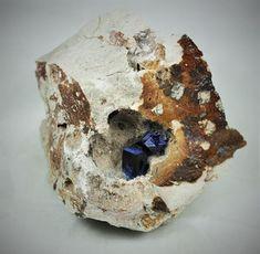 Azurite Kerrouchen Khenifra Morocco Africa Morocco, Australia, Minerals, Africa