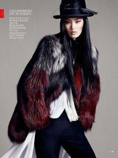 Vogue China October 2013 Editorial - Chiharu Okunugi