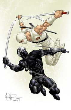 Snake-eyes and StormShadow