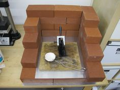 How to Make an Easy and Safe Torch Station. This is a good idea, but I have squa. How to Make an Easy and Safe Torch Station. This is a good idea, but I have square lazy-susan solde Jewellers Bench, Soldering Jewelry, Metalsmith Jewelry, Jewelry Making Tutorials, Jewellery Making, Free Tutorials, Diy Jewellery, Luxury Jewelry, Jewelry Making