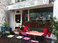 Sonntagskaffee: Gartensalon in #München Schwabing