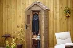 Single outdoor cupboard