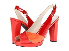 Add a splash of color and height to your ensemble with the D New Egizia 2 pump from Geox®.