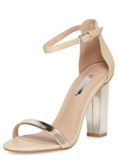 Asos _ Dune Hunnie Di Silver Barley There Heeled Sandals | My