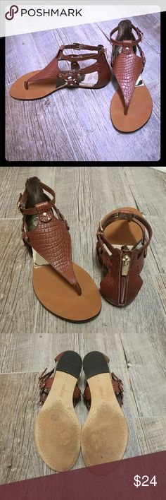 Vince Camuto Brown Leather Sandals Gorgeous Vince Camuto leather sandals in great condition. Only worn a couple of times. Perfect for spring and summer wardrobe. Vince Camuto Shoes Sandals