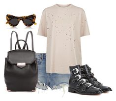 """""""Untitled #3725"""" by ericacavaco12 ❤ liked on Polyvore featuring Alexander Wang, Givenchy and Illesteva"""