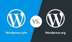 what is differnce In wordpress.com in 2017