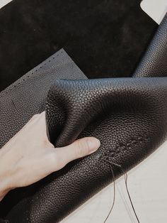 Hand stitched leather hand bag, one of a kind Stitching Leather, Hand Stitching, Handbags, Totes, Hand Bags, Purses, Bags