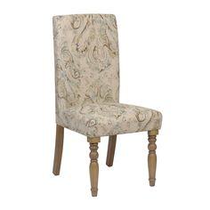 Paisley Pompeii Sky Parsons Chair | Kirklands