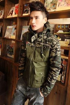 Men Casual Camouflage Clothing
