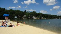Summer Fun without Spending Money Best Swimming, Swimming Holes, Lake Hopatcong, Sand Volleyball Court, Beach Supplies, State Forest, New Jersey, Jersey Girl