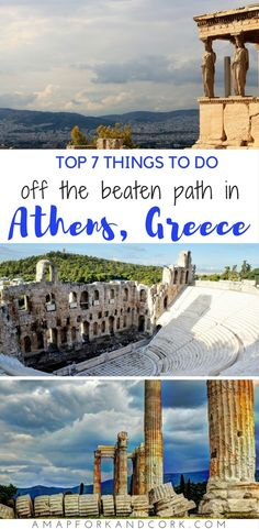 The top 7 things to do in Athens that's off the beaten path. #Greece #Athens